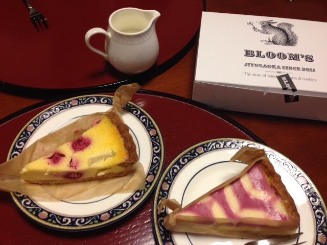 Bloom'sのケーキ
